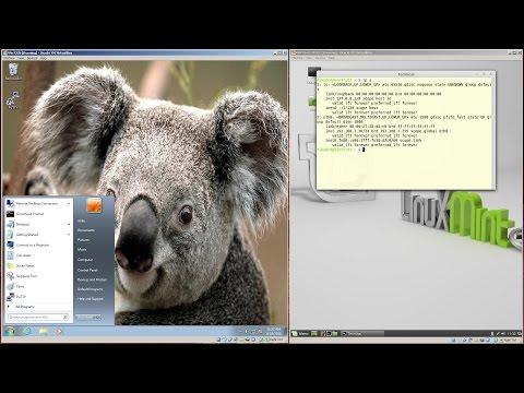 Remote Desktop From Windows 7 To Linux Mint 17.1 Rebecca Cinnamon