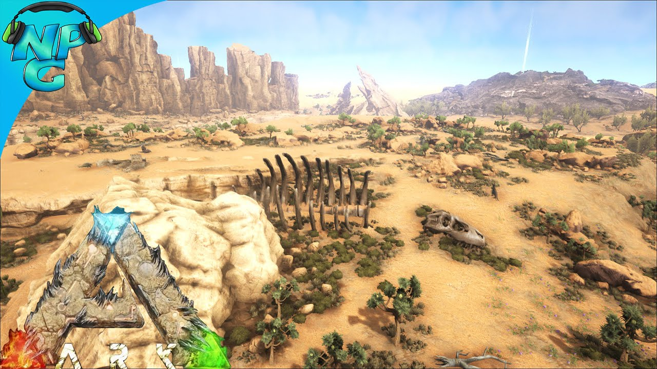 Scorched Earth   The Thirst is REAL! ARK Survival Evolved