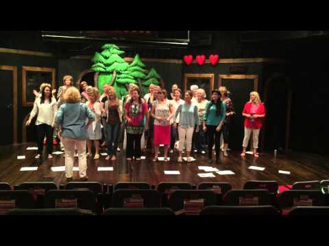 SINGcere and their amazing Christmas choreography