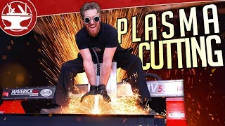 Cutting Metal with PLASMA!