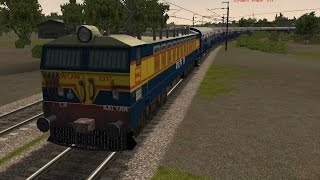(MSTS) Indian Railways - Deccan Queen Express accelerates madly!! Train Simulator