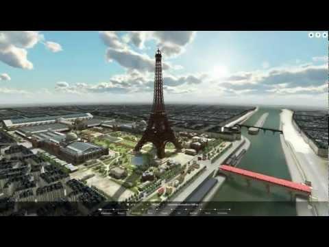 """""""PARIS 3D Saga"""" 3DEXPERIENCE - Online application preview"""
