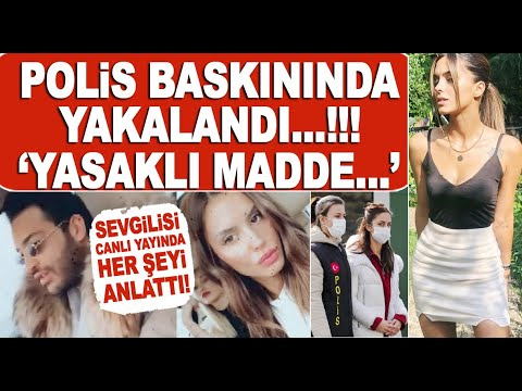 Aracında yasak madde bulunan Ayşegül Çınar'ın sevgilisi Furkan Çalıkoğlu canlı yayında isyan etti!