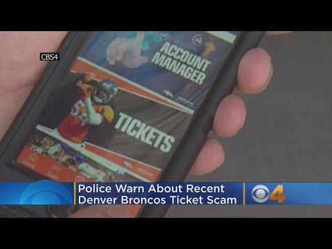 BEARDO - Police warn about potential Broncos ticket scam