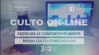 Culto Matutino - Rev. Fabio Castro - 16/05/2021