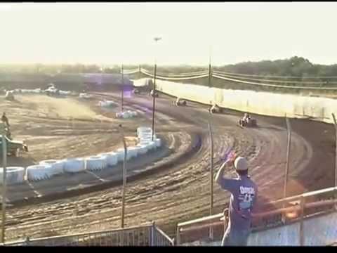 Marysville Raceway - Wingless Sprints Hot laps 9-3-16