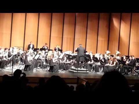 San Antonio Dances by Frank Ticheli Performed by Vallivue High School Wind Ensemble