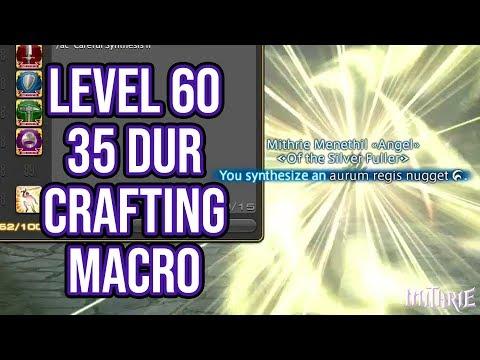Ffxiv Level   Star Crafting Rotation Non Macro