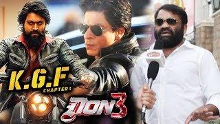 Shahrukh's DON 3 Vs Yash's KGF, South Film Director S.K. Basheed Reaction