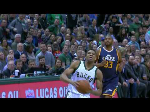 Utah Jazz vs Milwaukee Bucks | February 24, 2017 | NBA 2016-17 Season