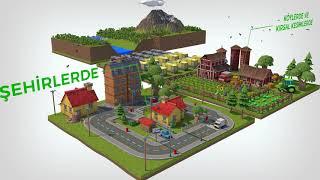 Hidroelektrik enerjisi 3D animasyon filmi