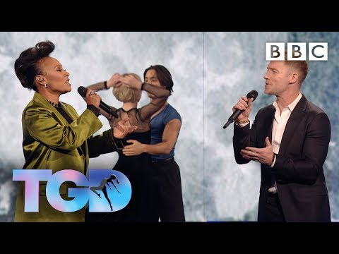 'One of a Kind' Ronan Keating and Emeli Sandé ft Northern Ballet - The Greatest Dancer - BBC