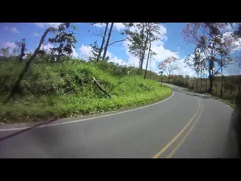 Siqurres, Limón - Turrialba, Cartago (Costa Rica). BMW G650GS + ContourGPS
