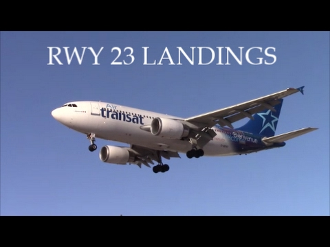 RWY 23 Action at Toronto Pearson: Emirates, KLM, Cathay Pacific, etc.