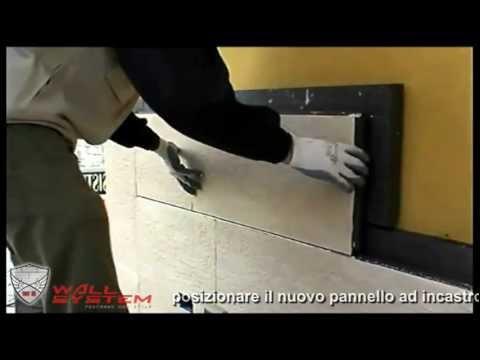 Wall system pannelli cappotto corazzato installazione for Pannelli polistirolo bricoman