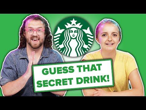 Baristas Guess What's In Starbucks' Secret Menu Drinks