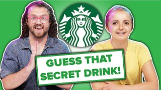 Baristas Guess What's In Starbucks' Secret Menu Drinks