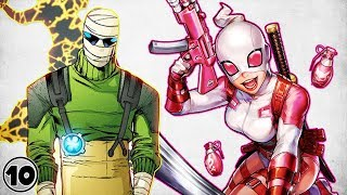 Top 10 Superheroes With Powers No One Understands - Part 3