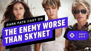 Terminator: Dark Fate Cast on the Enemy Worse Than Skynet - Comic Con 2019