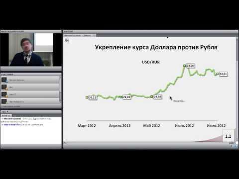 Рынок FOREX -- Заработай на изменениях валютного курса!