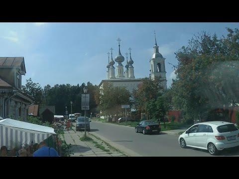 Туры Золотое Кольцо России, автобус из Санкт-Петербурга