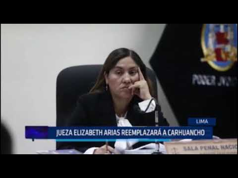 Jueza Elizabeth Arias reemplazará a Concepción Carhuancho