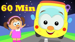 Wheels On The Bus | Plus Lots More Popular Nursery Rhymes Collection For Babies From HooplakidzTV