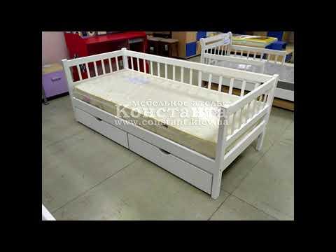 Детские одноярусные кровати