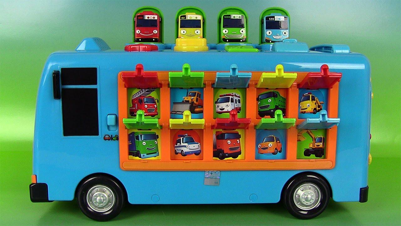 tayo the little bus pop up surprise jouets de b b tayo le petit bus jouets pour petits premier. Black Bedroom Furniture Sets. Home Design Ideas