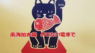和歌山市駅 めでたい電車 加太駅 満幸商店Ⅱ 満幸商店 淡嶋神社 加太海水浴場