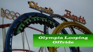 Olympia Looping Barth Offride, Cranger Kirmes Herne Germany
