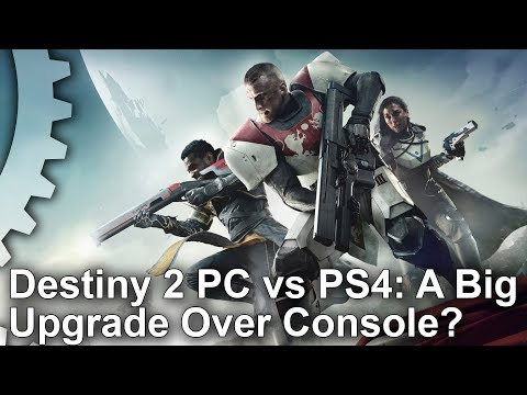 Destiny 2: PC vs PS4 Graphics Comparison - A Big Upgrade Over Console?