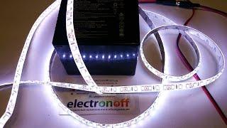 Как сделать автономное аккумуляторное освещение: видео обзор от Интернет-магазина Electronoff