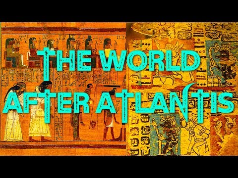 The World After Atlantis and The Atlantean Language