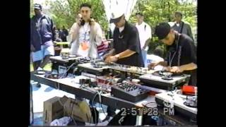 Supernatural Turntable Artists - Clips From Hip Hop In The Park 1997 / People
