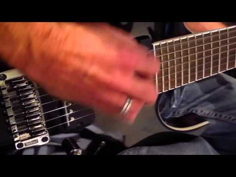 """Ibanez RGIR27FE with Seymour Duncan Pegasus-Metal test by CheckedOUT-""""There is no Escape"""""""