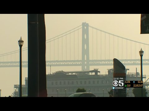 Smoke From Northern California Fires Creates Haze Over Bay Area