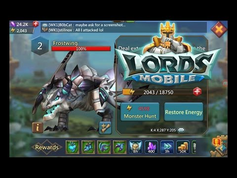 Lords Mobile How To Kill Frostwing Tips