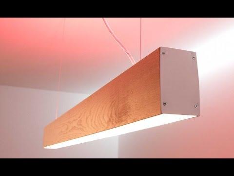 Plafoniere In Legno Fai Da Te : Lampada pendente da tavolo led rgbw youtube