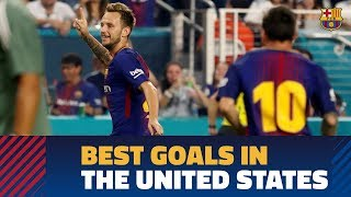 FC Barcelona's top goals in the USA