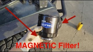 How To Change Your Car's Oil and Oil Filter Life Hack! (Jeep TJ)
