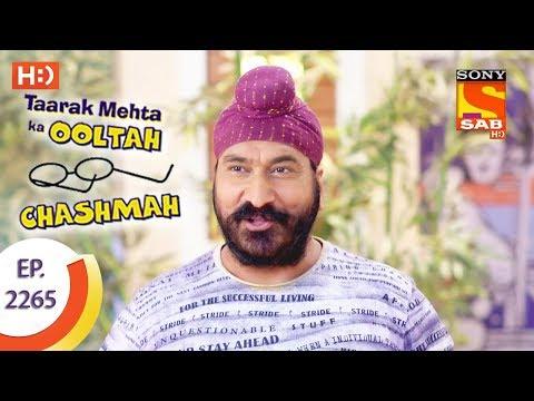 Taarak Mehta Ka Ooltah Chashmah - तारक मेहता - Ep 2265 - 9th August, 2017