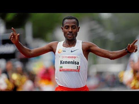 Kenenisa Bekele wins Bern 10 Mile 2018