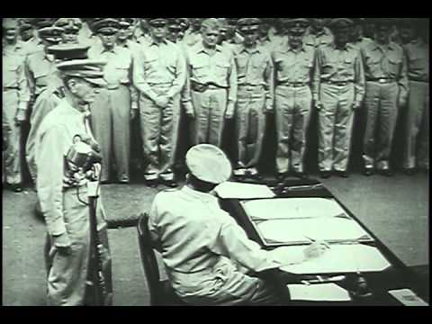Japan Surrender on USS Missouri