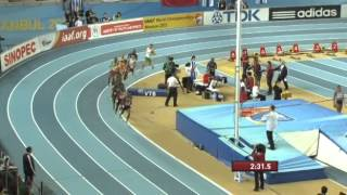 3000м Финал Мужчины - ЧМ в помещении Стамбул 2012