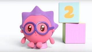 Малышарики - песенка - Прыг-прыг -  для самых маленьких - клип на песню - учимся считать