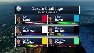 Nazare Challenge: Round One, Heat 2