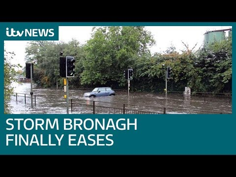 Storm Bronagh disrupts travel with strong winds and heavy rain  ITV News