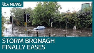 Storm Bronagh disrupts travel with strong winds and heavy rain | ITV News