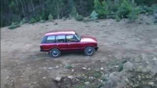 playing with the range rover classic off road 2